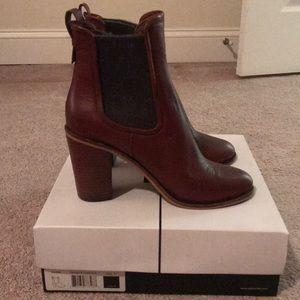 Dolce Vita Olivia Boot in Brandy Leather